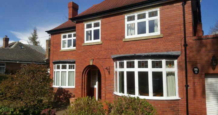Harrogate sash window